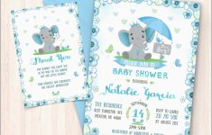 Free Printable Baby Shower Thank You Cards Best Of Elephant Baby | Free Printable Baby Shower Thank You Cards