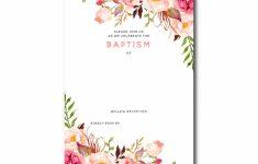 Printable Baptism Christening Cards