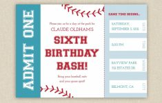 Free Printable Baseball Birthday Party Invitations | Birthday Party | Printable Sports Birthday Cards