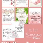 Free Printable Bible Verses To Encourage And Inspire Homeschool Moms | Free Printable Scripture Cards