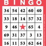 Free Printable Bingo Card Template   Bingocardprintout | Free Printable Bingo Cards
