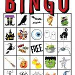 Free Printable Bingo Cards Esl | Free Printables | Printable Halloween Bingo Cards