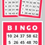 Free Printable Bingo Cards   Family Nights Education   Bingo Cards   Free Printable Number Bingo Cards 1 20