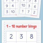 Free Printable Bingo Cards | Math | Bingo, Numbers Preschool | Bingo Cards Printables For Numbers