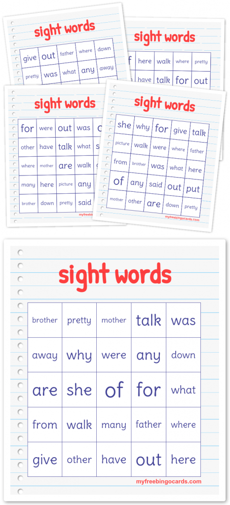 Free Printable Bingo Cards | New | Free Bingo Cards, Free Printable | Vocabulary Bingo Cards Printable