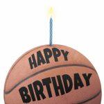 Free Printable Birthday Card   Basketball | Greetings Island | Free Printable Basketball Cards