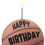 Free Printable Birthday Card   Basketball | Greetings Island | Printable Sports Birthday Cards