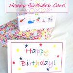 Free Printable Birthday Card | Free Printable Happy Birthday Cards