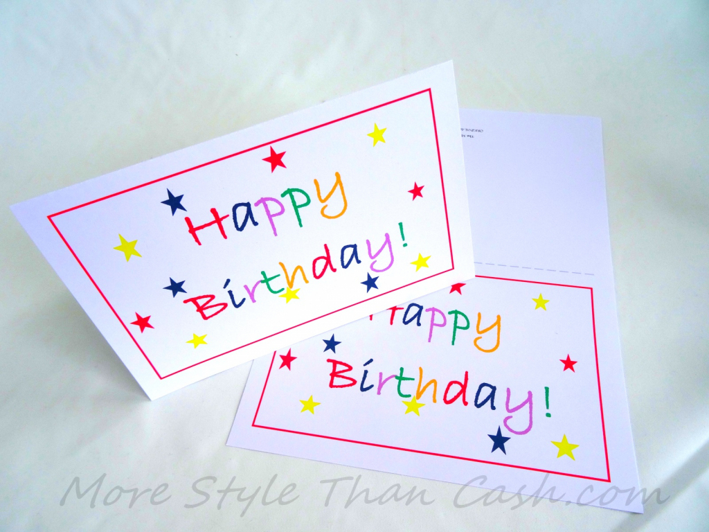 Free Printable Birthday Card | Free Printable Money Cards For Birthdays