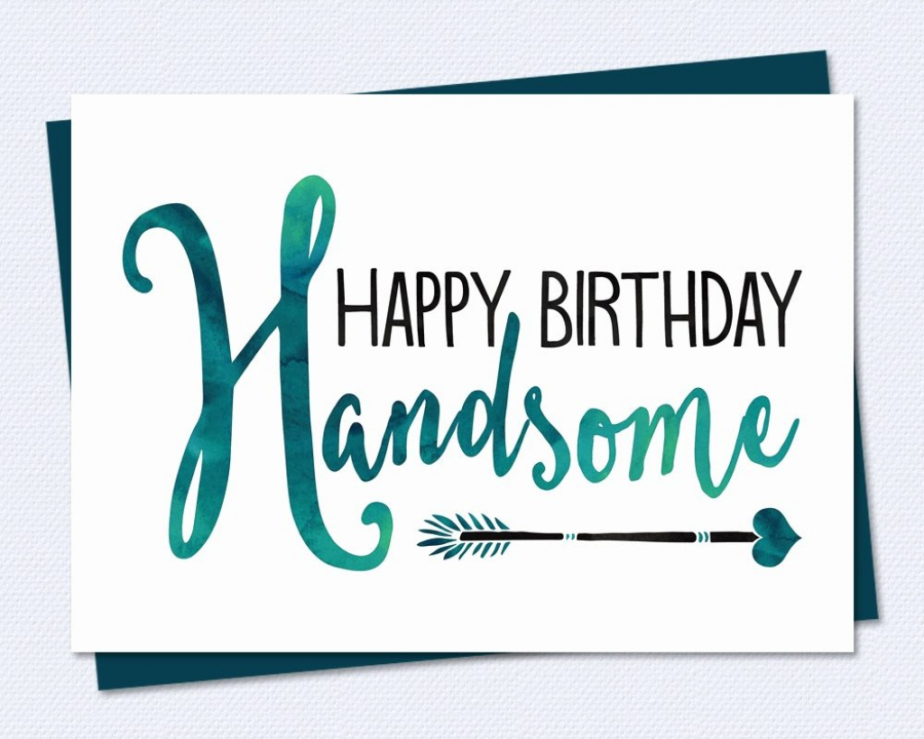 Free Printable Birthday Cards For Him | Fcbihor | Printable Birthday Cards For Him