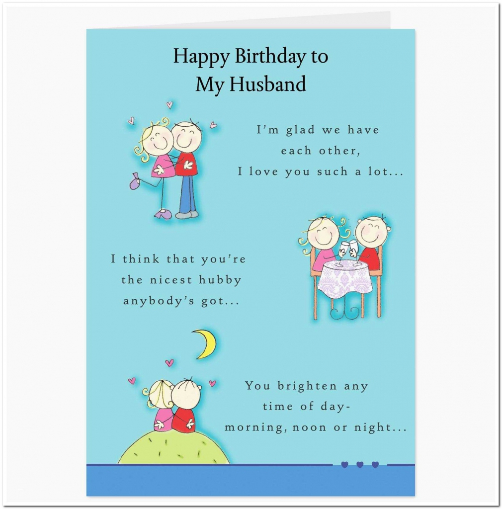Free Printable Birthday Cards For Husband | Free Printables | Printable Birthday Cards For Husband