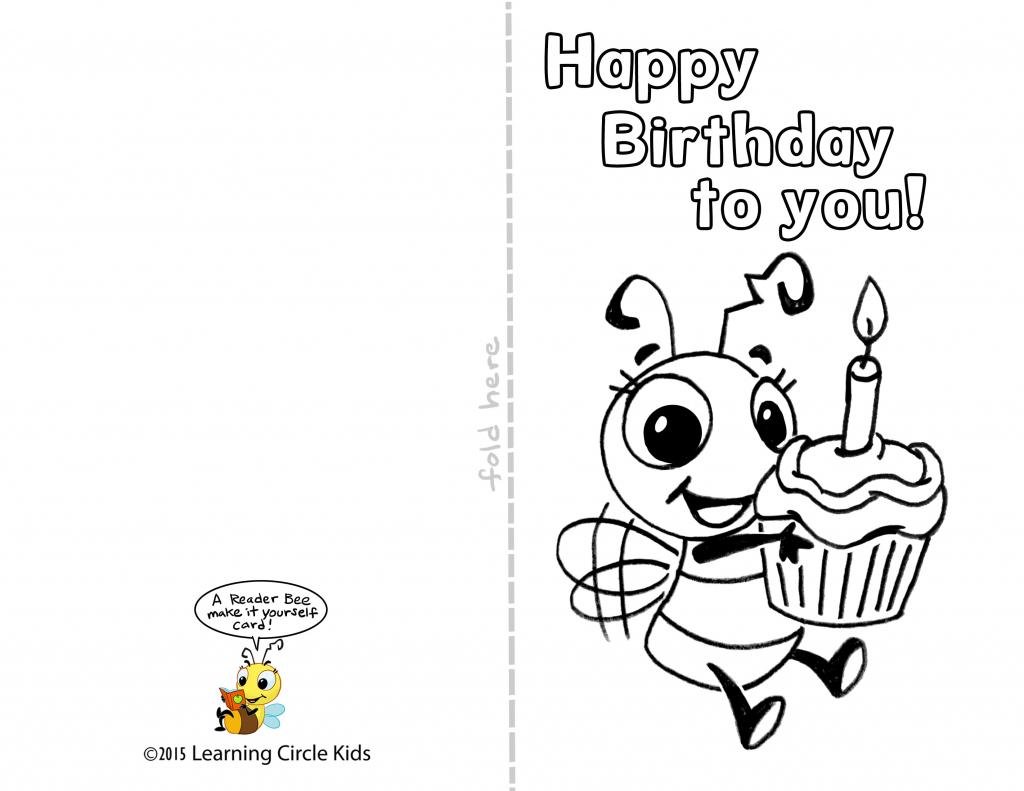 Free Printable Birthday Cards For Kids - Kleo.bergdorfbib.co | Printable Birthday Cards For Boys