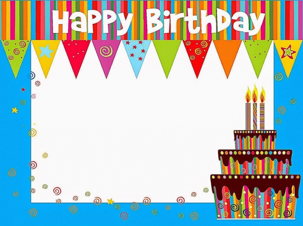 Free Printable Birthday Cards For - Kleo.bergdorfbib.co | Free Printable Happy Birthday Cards In Spanish