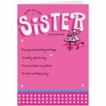 Free Printable Birthday Cards For Sister – Happy Holidays! | Printable Birthday Cards For Sister