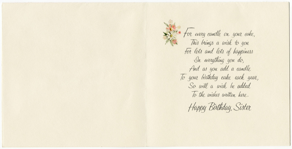 Free Printable Birthday Cards For Sister | My Birthday | Vintage | Printable Birthday Cards For Sister