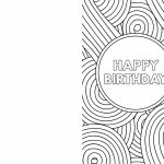 Free Printable Birthday Cards   Paper Trail Design | Black And White Birthday Cards Printable