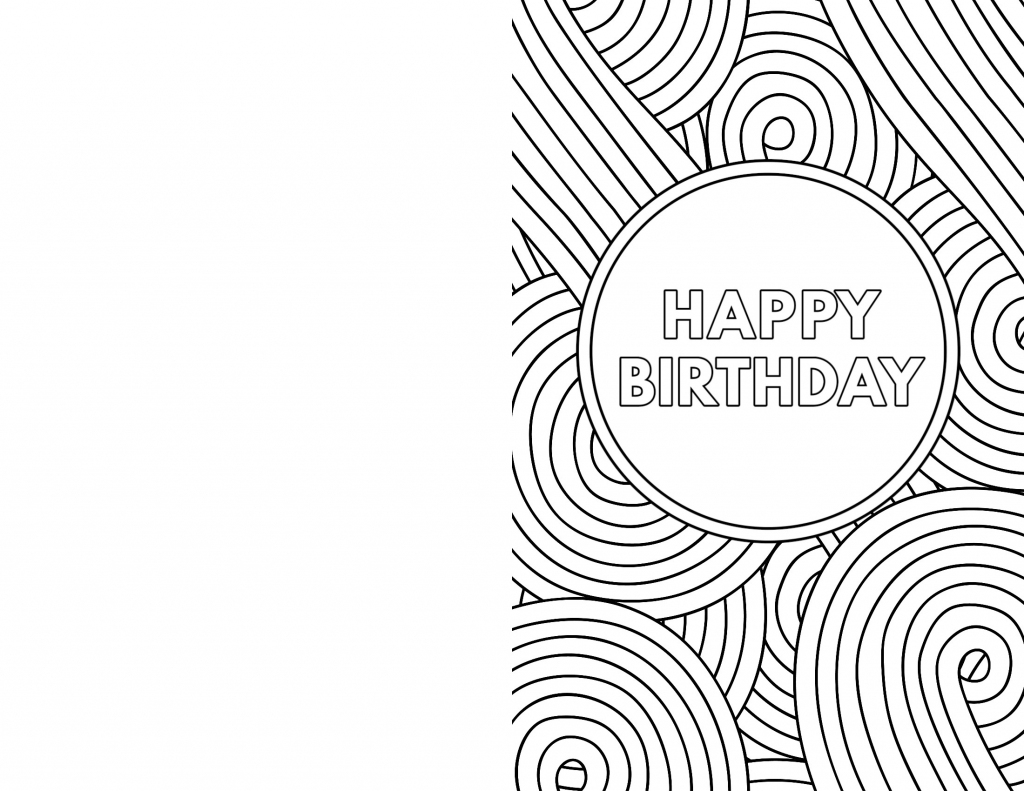 Free Printable Birthday Cards - Paper Trail Design | Black And White Birthday Cards Printable