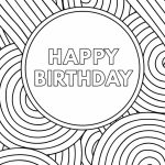 Free Printable Birthday Cards – Paper Trail Design | Free Printable Birthday Cards To Color