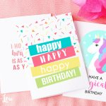 Free Printable Birthday Cards | Skip To My Lou | Free Printable Birthday Cards For Adults