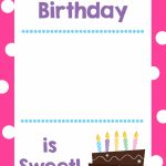 Free Printable Birthday Cards (That Hold Gift Cards)   Crazy Little | Printable Gift Card Holder Birthday
