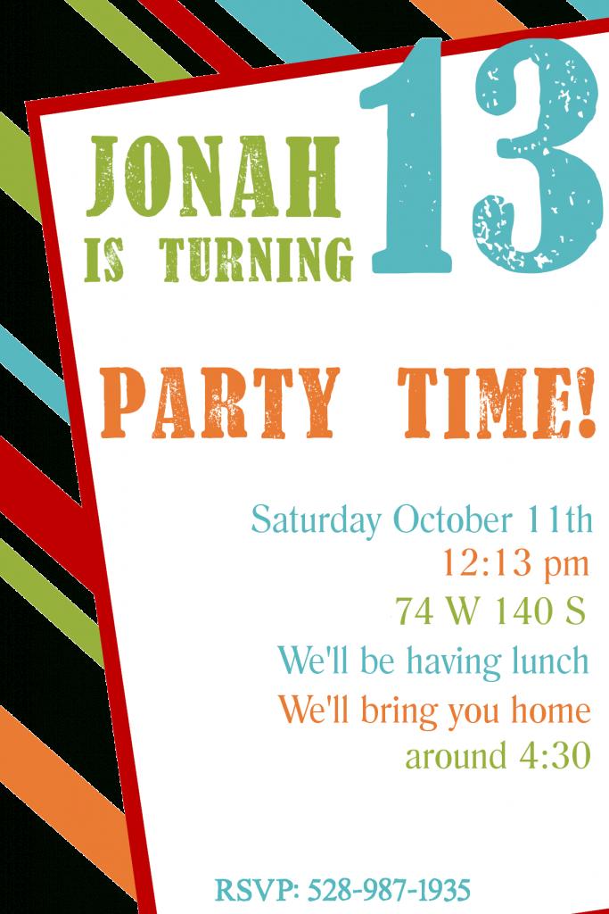 Free Printable Birthday Invitation Templates | Free Printable Birthday Invitation Cards Templates