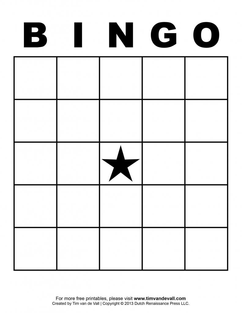 Free Printable Blank Bingo Cards Template 4 X 4 | Classroom | Blank | Printable Bingo Cards 4 Per Page