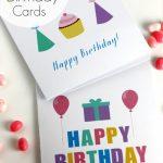 Free Printable Blank Birthday Cards | Catch My Party | Printable Birthday Cards For Boys