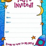 Free Printable Boys Birthday Party Invitations | Birthday Party | Free Printable Personalized Birthday Invitation Cards
