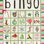 Free Printable Christmas Bingo Cards For Large Groups   Printable Cards | Free Printable Christmas Bingo Cards