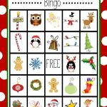 Free Printable Christmas Bingo Game | Christmas | Christmas Bingo | Free Printable Christmas Bingo Cards
