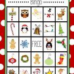 Free Printable Christmas Bingo Game | Christmas | Christmas Bingo | Santa Bingo Cards Printable