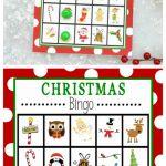 Free Printable Christmas Bingo Game – Fun Squared | Santa Bingo Cards Printable