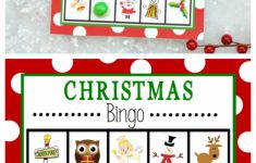 Free Printable Christmas Bingo Game – Fun-Squared | Santa Bingo Cards Printable
