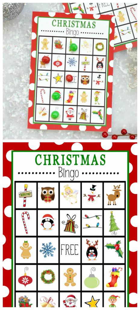 Free Printable Christmas Bingo Game – Fun-Squared | Santa Bingo Cards Printable