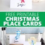 Free Printable Christmas Place Cards – Sustain My Craft Habit | Christmas Table Name Cards Free Printable