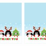 Free Printable Christmas Thank You Cards   Printable Cards | Free Printable Xmas Cards