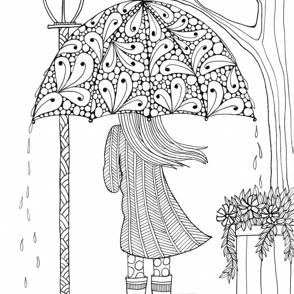 Free, Printable Coloring Pages For Adults | Free Printable Coloring Cards For Adults