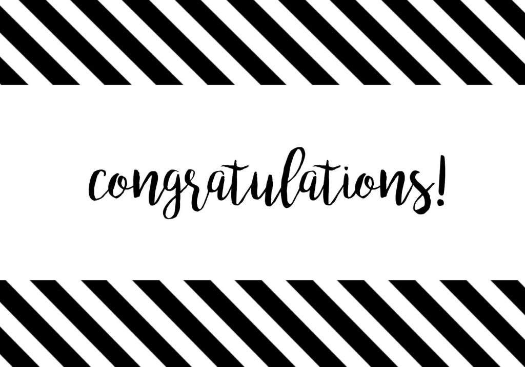 Free Printable Congratulations Card - Paper Trail Design | Free Printable Congratulations Baby Cards