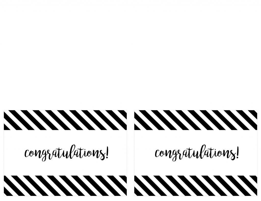 Free Printable Congratulations Card - Paper Trail Design | Free Printable Congratulations Cards