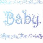 Free Printable Decorated Baby Card Greeting Card | Baby Shower Ideas | Baby Greeting Cards Printable