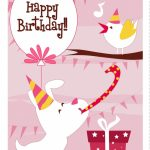 Free Printable Dog N Bird Greeting Card | Cards | Happy Birthday | Printable Dog Birthday Cards