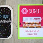 Free Printable} Donut Cut Out Gift Card Holder | Gcg | Printable Gift Card Holder Birthday