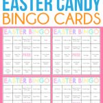 Free Printable Easter Bingo Cards For One Sweet Easter   Play Party Plan | Printable Picture Bingo Cards For Kids