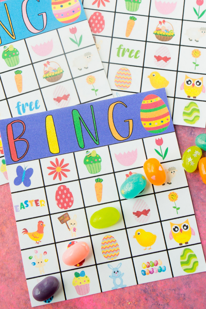 Free Printable Easter Bingo Cards - Play Party Plan | Free Printable Religious Easter Bingo Cards