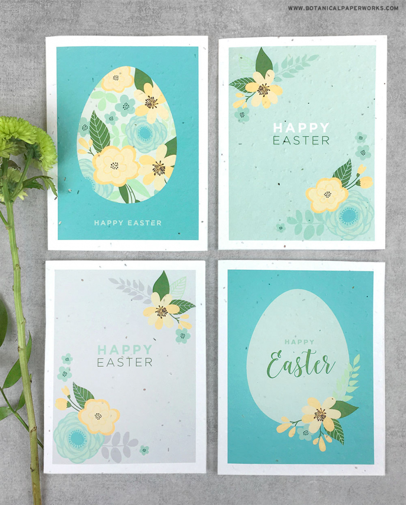 Free Printable} Easter Cards | Blog | Botanical Paperworks | Free Printable Easter Cards To Print