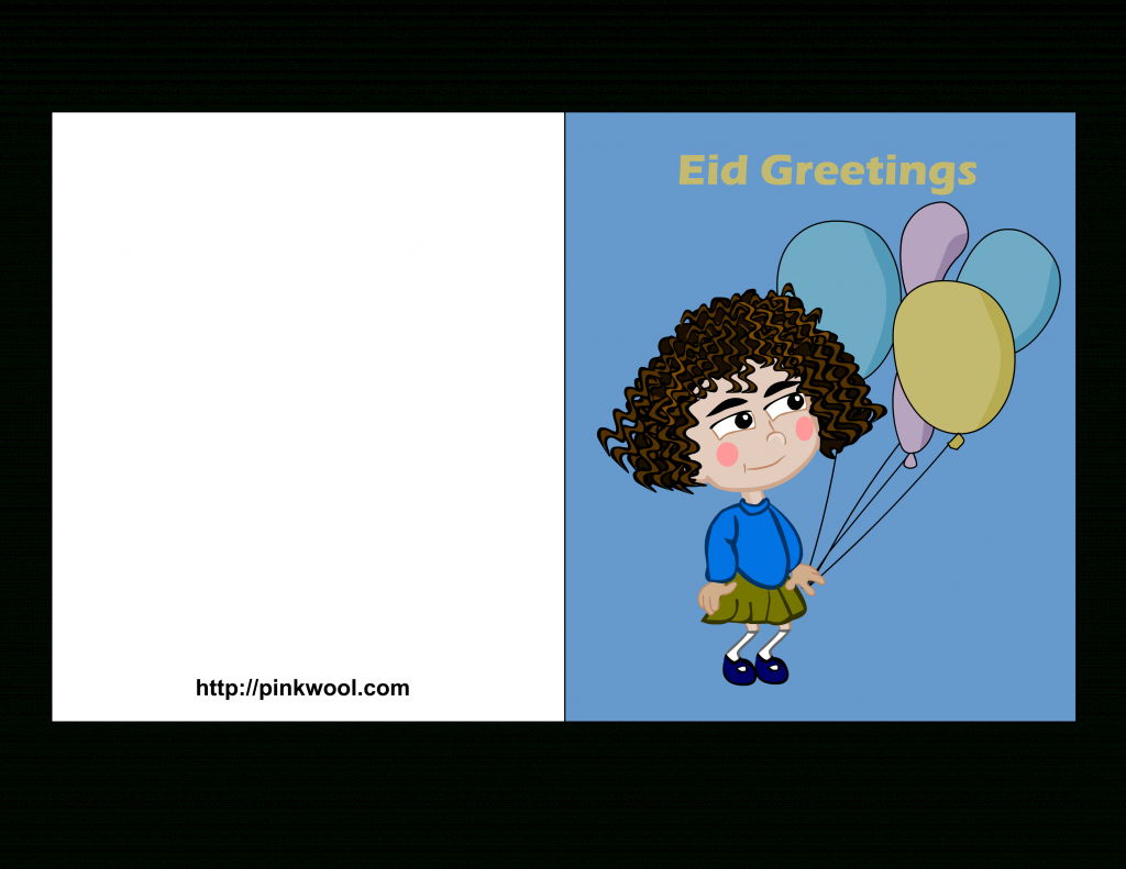 Free Printable Eid Greeting Cards | Printable Greeting Cards For Kids