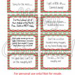 Free Printable   Elf On The Shelf Naughty Cards   Honeysuckle Footprints | Printable Elf On The Shelf Note Cards
