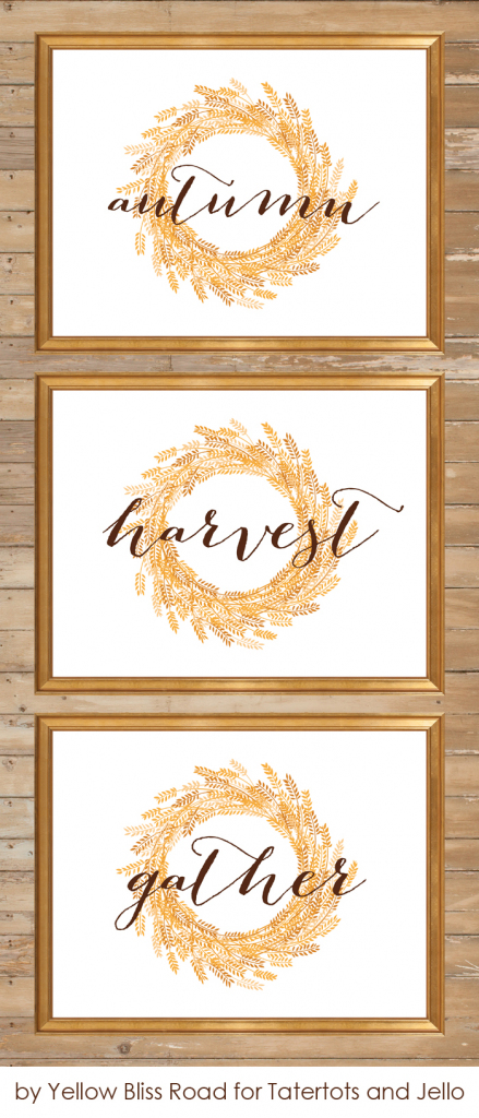 Free Printable Fall Signs And Note Cards - Yellow Bliss Road | Cards Sign Free Printable