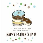 Free Printable Fathers Day Cards |  Cardstock Paper Will Print 2 | Free Happy Fathers Day Cards Printable
