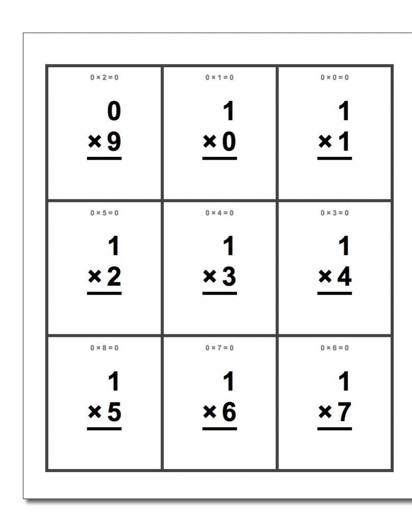 Free Printable Flash Cards For Each Math Operation With Answer Key | Free Printable Addition Flash Cards